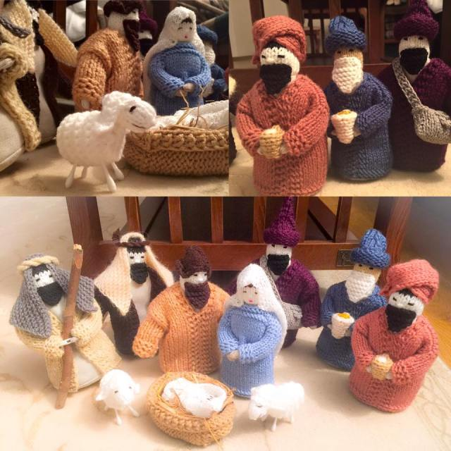 Nativity view of 2 sets