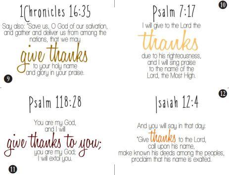 Thankful Cards 9-16