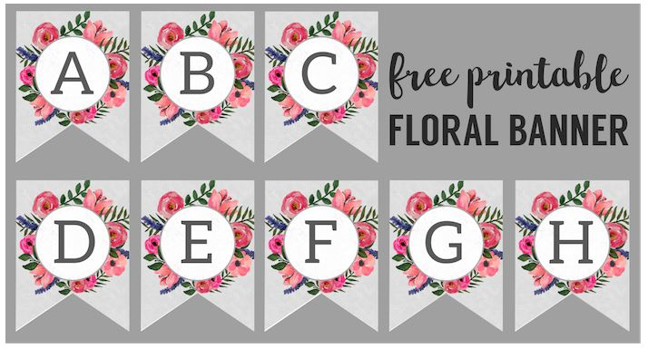image relating to Printable Banners referred to as Do-it-yourself Customizeable Topic Banners Printables 4 calendar year Gatherings
